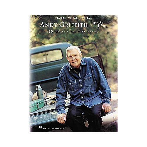 Hal Leonard Andy Griffith - Just as I Am Piano, Vocal, Guitar Songbook-thumbnail