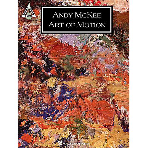Hal Leonard Andy Mckee - Art Of Motion Guitar Tab Songbook-thumbnail