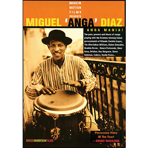 Alfred Anga Mania - Miguel Anga Diaz DVD-thumbnail