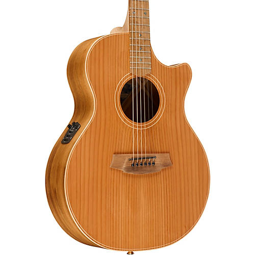 Cole Clark Angel 2 Series Australian Eco Redwood/Blackwood Grand Auditorium Acoustic-Electric Guitar-thumbnail