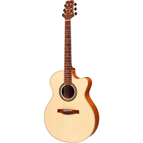 PRS Angelus Cutaway Acoustic Guitar with Figured Mahogany Back and Sides