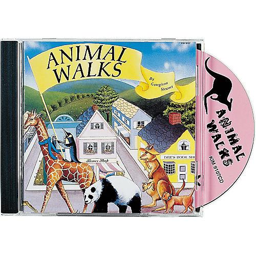 Kimbo Animal Walks CD/Guide