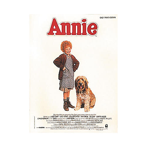 Hal Leonard Annie Movie Selections for Easy Piano-thumbnail