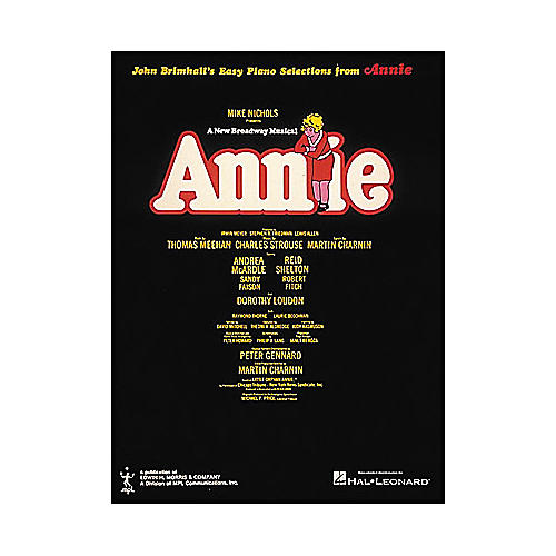 Hal Leonard Annie for Easy Piano-thumbnail