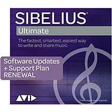 Sibelius Annual Upgrade & Support Plan Renewal for Sibelius