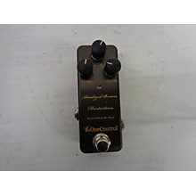 One Control Anodized Brown Distortion Effect Pedal