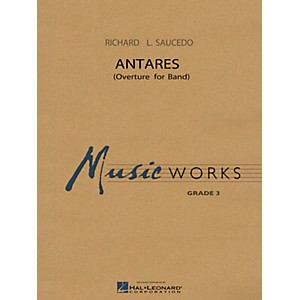 Hal Leonard Antares Overture for Band Concert Band Level 3 by Hal Leonard