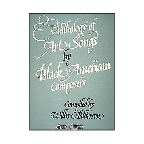 Hal Leonard Anthology Of Art Songs By Black American Composers-thumbnail