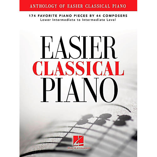 Hal Leonard Anthology Of Easier Classical Piano - 174 Favorite Pieces By 44 Composers-thumbnail