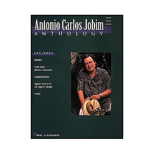 Hal Leonard Antonio Carlos Jobim Anthology arranged for piano, vocal, and guitar (P/V/G)-thumbnail