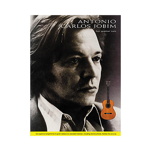 Hal Leonard Antonio Carlos Jobim for Fingerstyle Guitar Book