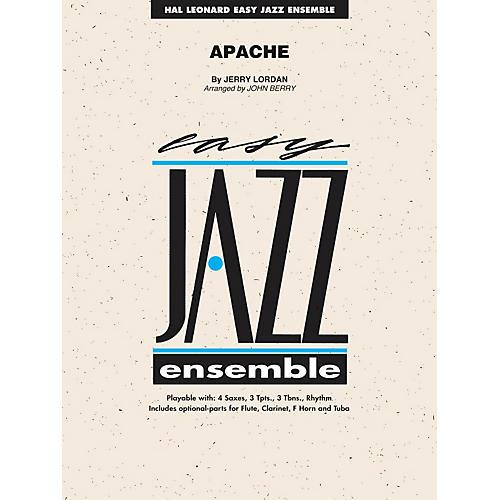 Hal Leonard Apache - Easy Jazz Ensemble Series Level 2-thumbnail