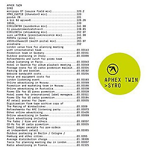 Aphex Twin - Syro by
