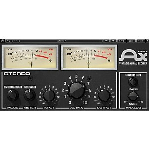 Waves Aphex Vintage Aural Exciter Native/TDM/SG Software Download by Waves