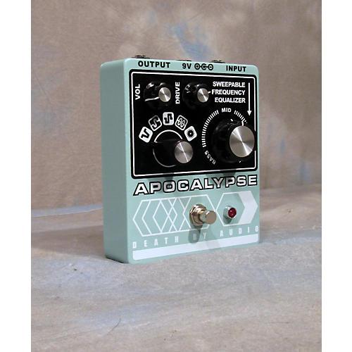 Death By Audio Apocalypse Distoration Effect Pedal