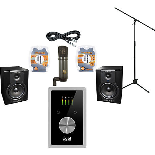 M-Audio Apogee Duet 2 and M-Audio BX5a Recording Package-thumbnail