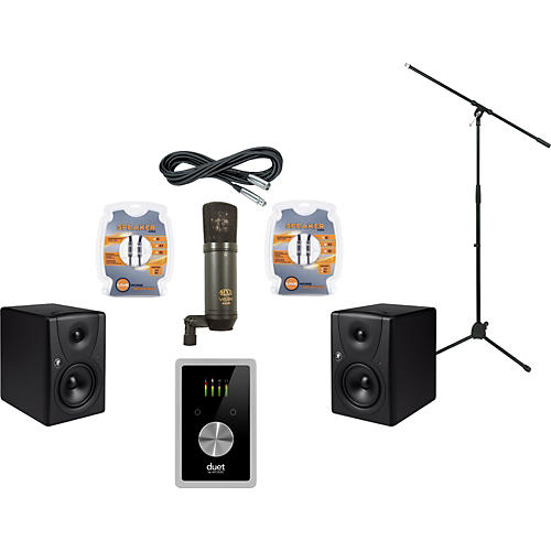Mackie Apogee Duet 2 and Mackie MR5 Recording Package