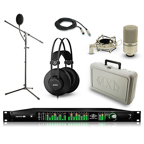 Universal Audio Apollo 16 Thunderbolt QUAD, K52 and 990 Package