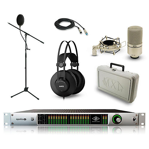 Universal Audio Apollo 16 with Thunderbolt Option Card, K52 and 990 Package