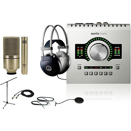 Universal Audio Apollo Twin SOLO 990/991 Recording Bundle