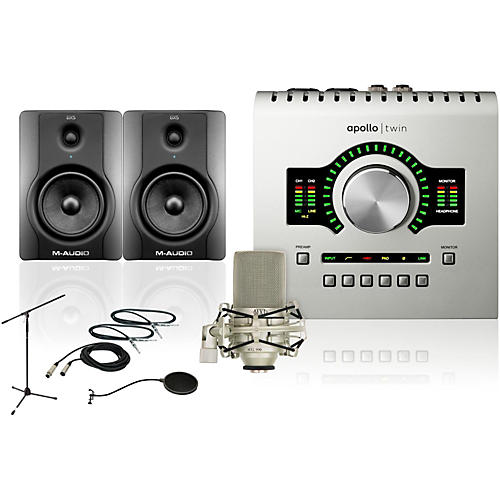 Universal Audio Apollo Twin SOLO BX5 Recording Bundle