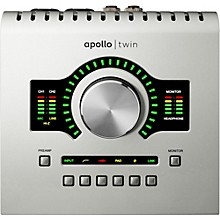 Universal Audio Apollo Twin SOLO with Realtime UAD Processing