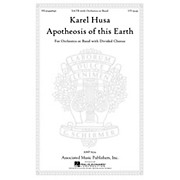 Associated Apotheosis of This Earth SATB composed by Karel Husa