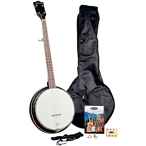 regal appalachian 5 string banjo pickin 39 pack guitar center. Black Bedroom Furniture Sets. Home Design Ideas
