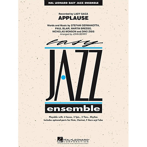 Hal Leonard Applause - Easy Jazz Ensemble Series Level 2