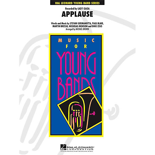 Hal Leonard Applause - Young Concert Band Level 3-thumbnail