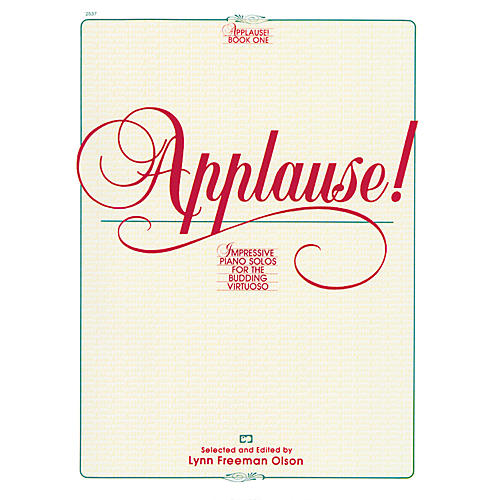 Alfred Applause! Book 1 Intermediate/Early Advanced Piano-thumbnail