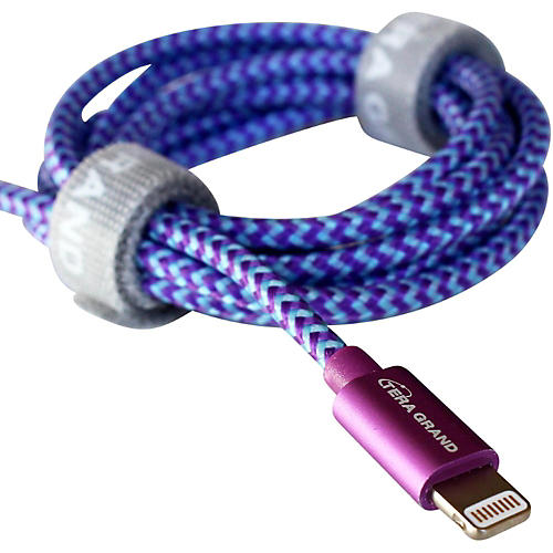 Tera Grand Apple MFi Certified - Lightning to USB Braided Cable with Aluminum Housing