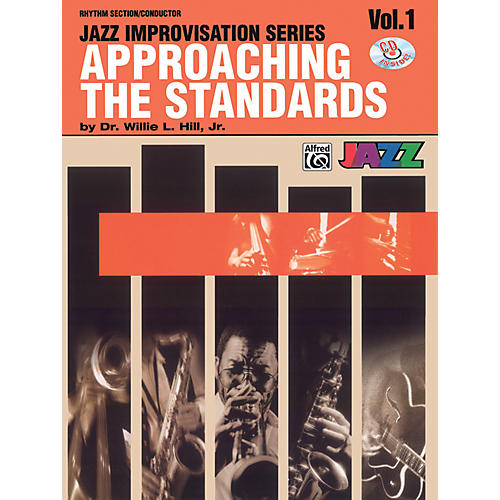 Alfred Approaching the Standards Volume 1 Rhythm Section / Conductor Book & CD-thumbnail