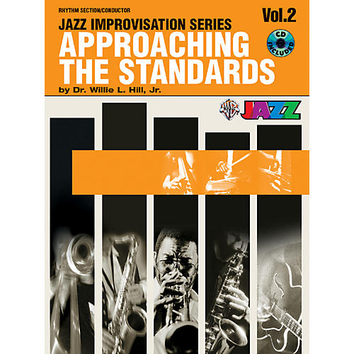 Alfred Approaching the Standards Volume 2 Rhythm Section / Conductor Book & CD-thumbnail