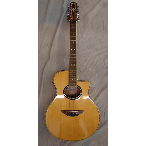 Yamaha Apx 700 12 String Acoustic Electric Guitar Natural