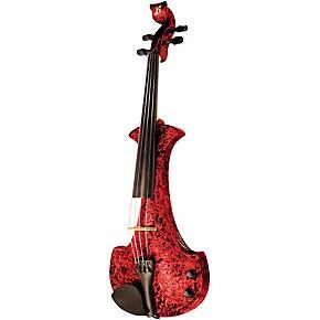 bridge aquila series 4 string electric violin black purple guitar center. Black Bedroom Furniture Sets. Home Design Ideas