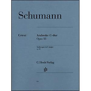 G. Henle Verlag Arabesque C Major Op. 18 By Schumann