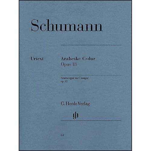 G. Henle Verlag Arabesque C Major Op. 18 By Schumann-thumbnail