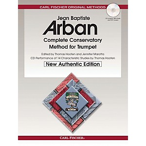 Carl Fischer Arban Complete Conservatory Method for Trumpet, New Edition by Carl Fischer
