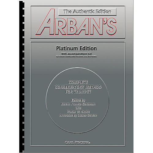 Carl Fischer Arban's Complete Conservatory Method for Trumpet Book and CD