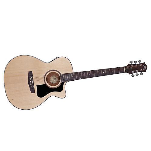 Guild Arcos Series AO-3CE Mahogany Orchestra Acoustic-Electric Cutaway Guitar-thumbnail