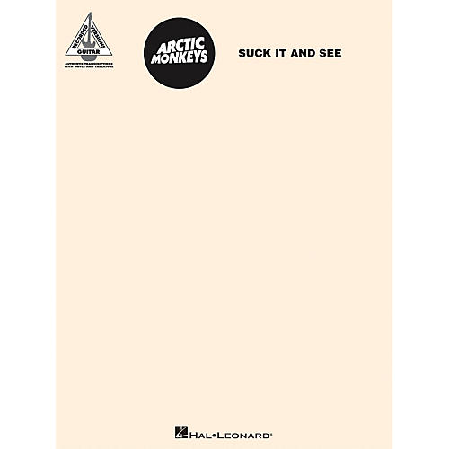 Hal Leonard Arctic Monkeys - Suck It And See Guitar Tab Songbook-thumbnail