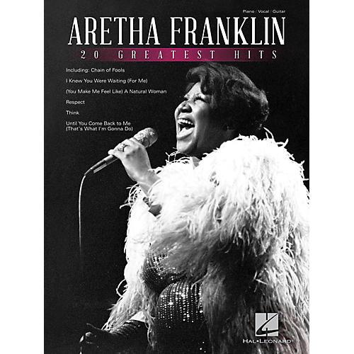 Hal Leonard Aretha Franklin 20 Greatest Hits-thumbnail