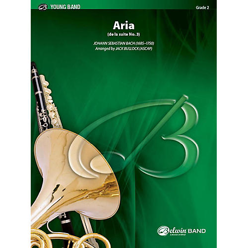 Alfred Aria Concert Band Grade 2.5 Set