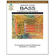 Hal Leonard Arias For Bass - Complete Package with Book, Diction Coach and Accompaniment CDs