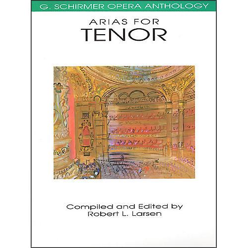 G. Schirmer Arias for Tenor G Schirmer Opera Anthology-thumbnail