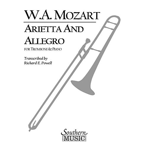 Southern Arietta and Allegro, K109b/8 K3 Southern Music Composed by Mozart Arranged by Richard Powell