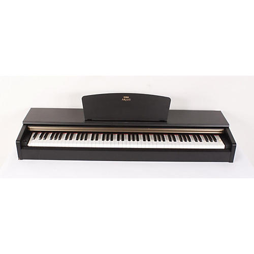 yamaha arius ydp 161 88 key digital piano with bench black walnut finish 886830764479 guitar. Black Bedroom Furniture Sets. Home Design Ideas