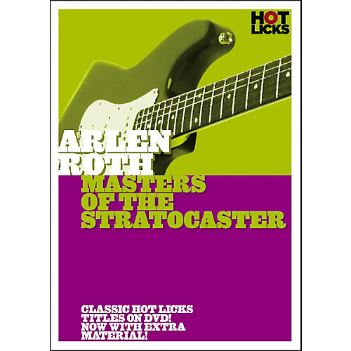 Hot Licks Arlen Roth: Masters of the Stratocaster DVD-thumbnail
