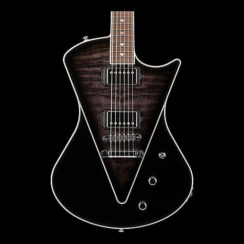 Ernie Ball Music Man Armada Electric Guitar Transparent Black Rosewood